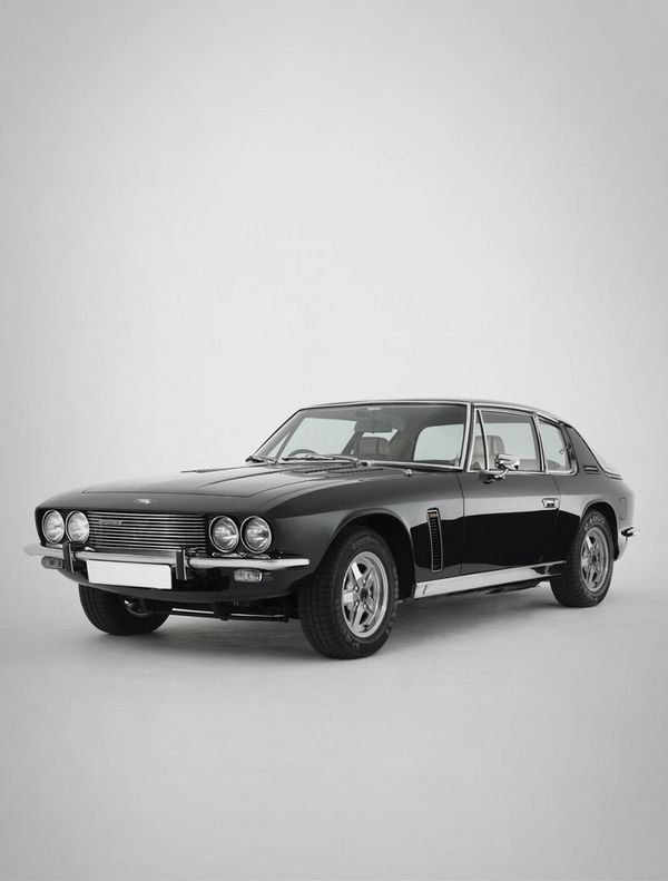1971 Jensen Interceptor. British Made, but with a Chrysler 440 V8 Big Block. Also what Lettie drives in Fast 6.