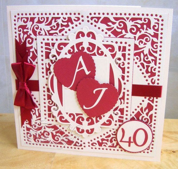 158 best Special Wedding Anniversary Cards images on Pinterest ...