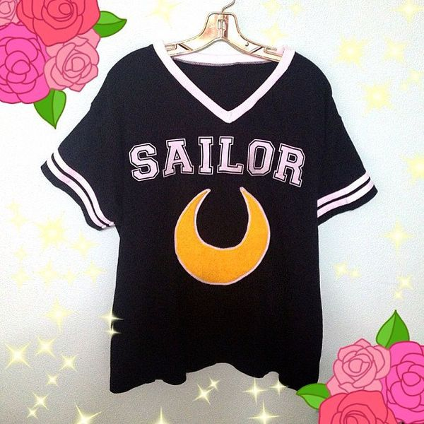 Support Your Favorite Scout With This Sailor Moon Shirt #sailormoon #anime trendhunter.com