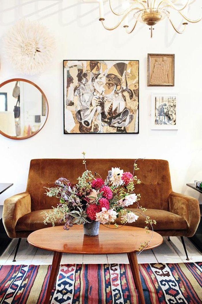 1000 idees a propos de canape marocain sur pinterest for Tapis berbere avec console de canapé