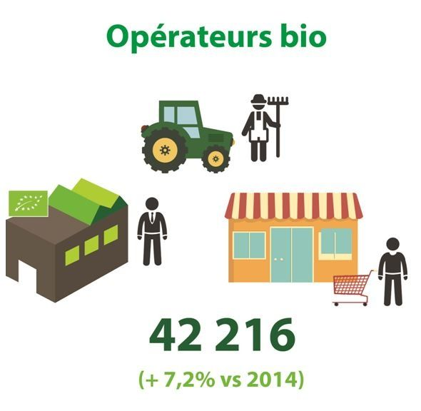 La #Bio : un rôle clé dans le développement des territoires #agriculturebio #agriculture #bio