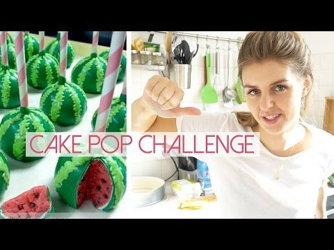 Pinterest Cake Pop Challenge - Wassermelone | Lovethecosmetics - YouTube