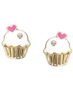 accessorize cupcake stud earrings £5