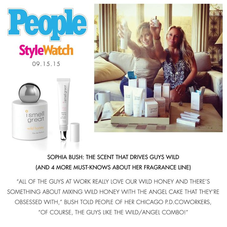 When you smell great, you feel great! Our co-founder Sophia Bush is sharing 5 empowering & scent-sy facts with People Style Watch today! ismellgreat.com