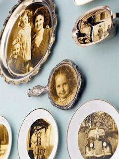 Vintage Photo Dishware