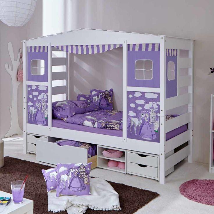 Die besten 25+ Kinderbettchen Ideen auf Pinterest Babyzimmer - gestalten rosa kinderzimmer kleine prinzessin