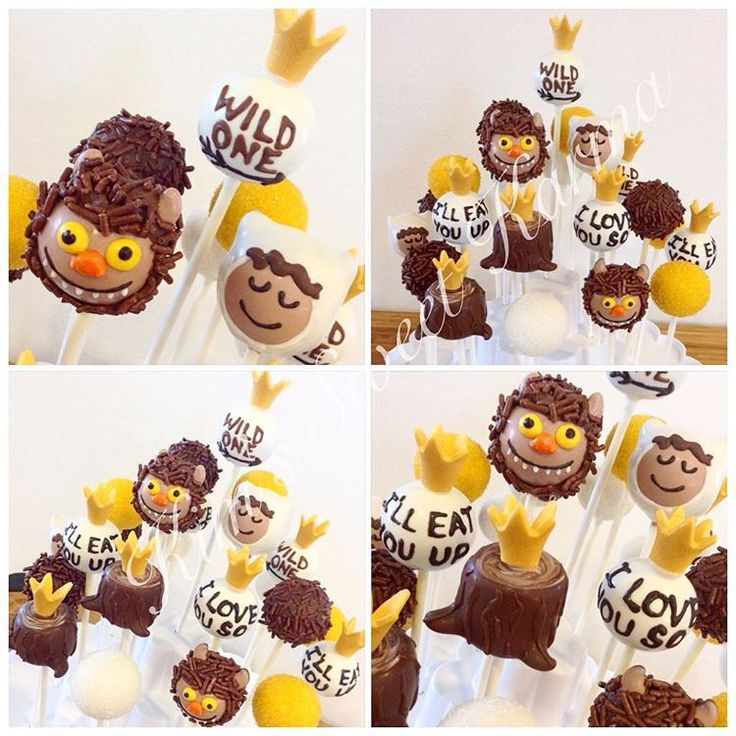 Where The Wild Things Are Cake Pops By Kim S Sweet Karma