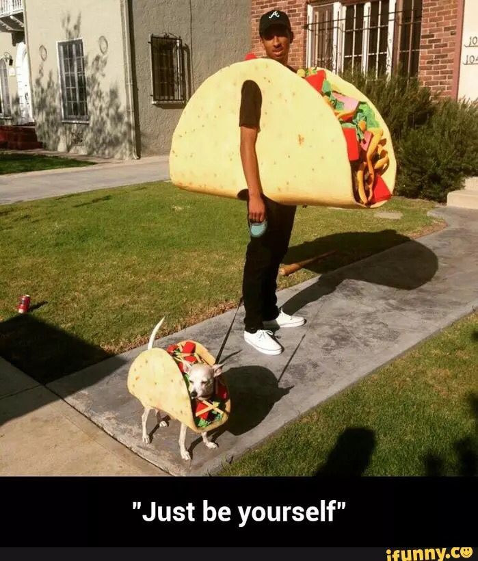 Best Taco costume ever! Lol
