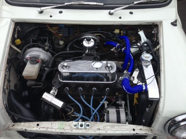 Total new hose set and radiator fitted March 2014