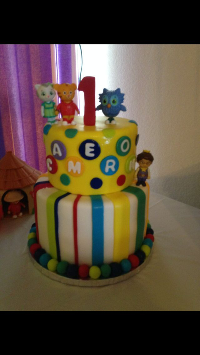 Daniel Tiger Birthday Cake Daniel Tigers Birthday Party