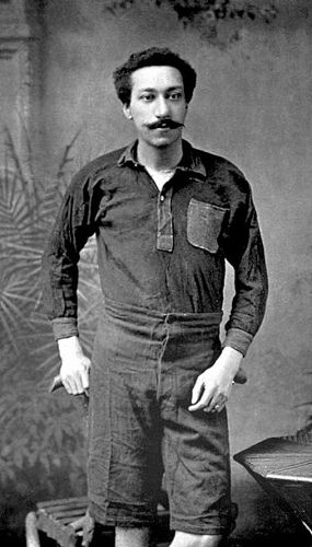 "https://flic.kr/p/5vtmZy | Arthur Wharton, footballer, 1894 | ""Arthur Wharton, the son of the Rev. Henry Wharton, a Wesleyan Methodist missionary from the West Indies, was born in Accra, Ghana on 28th October, 1865. Arthur was brought to England and was educated at Dr Cheyne's School in London between 1875 and 1879.  After spending time with his family in Grenada in the West Indies, Wharton returned to Britain in 1882 to train as a missionary teacher. He studied at Shoal Hill College before…"