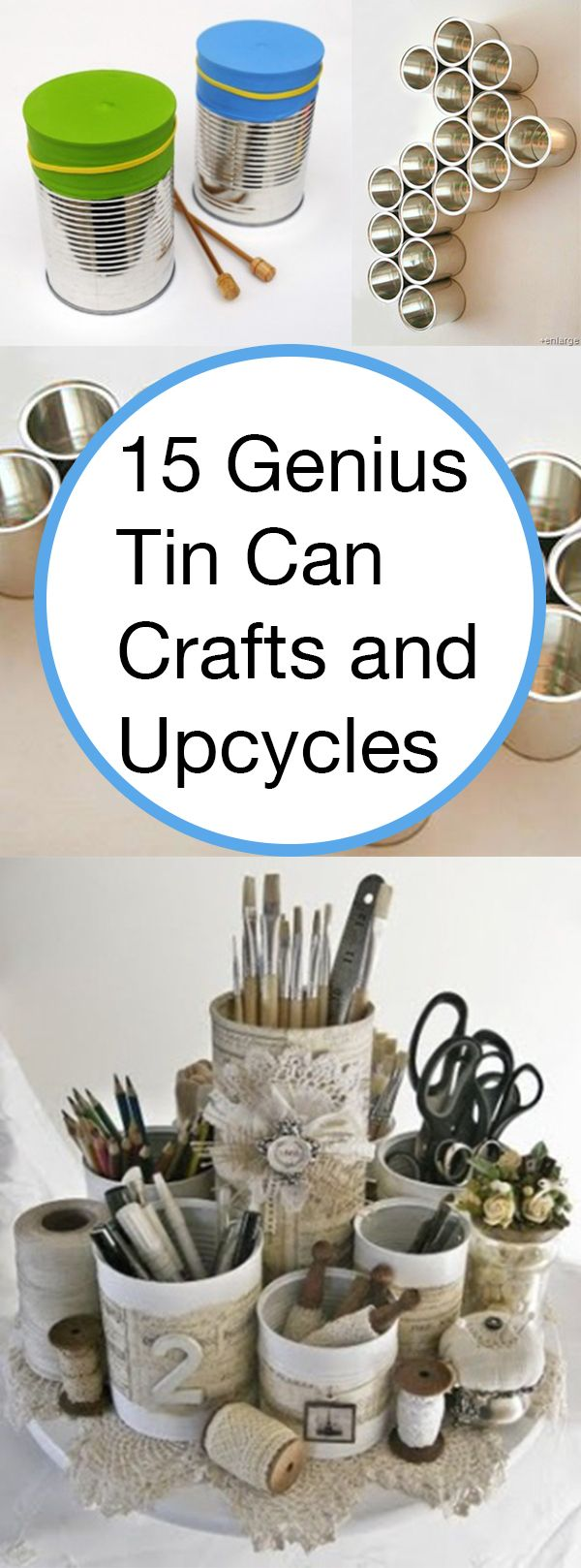 768 best can crafts images on pinterest for Tin projects