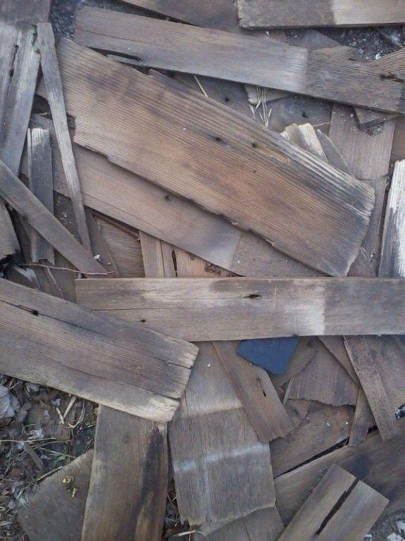 Vintage Antique Barn Shingles Cedar Shakes Wood Crafts