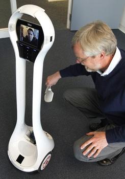 When only a robotic video presence will do - VGo!