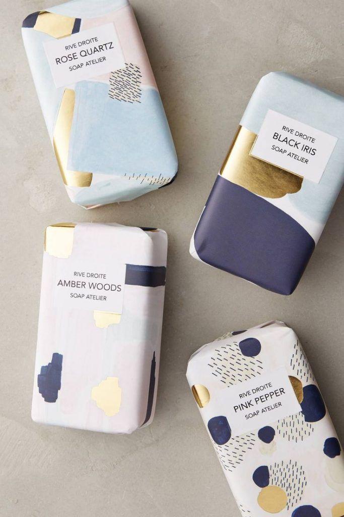 10 exquisitos y atractivos packagings de jabón