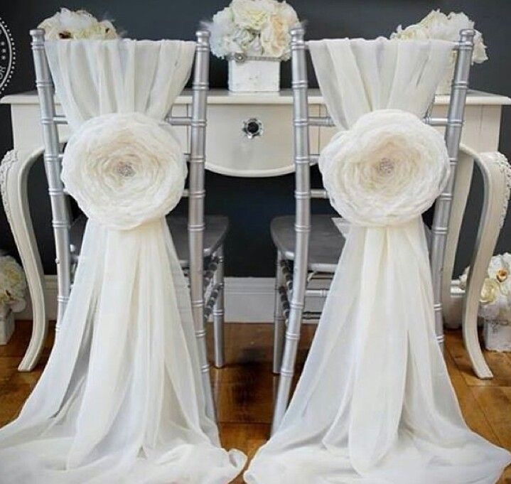 17 best images about chairs cover decor on pinterest for Chair covers for wedding design