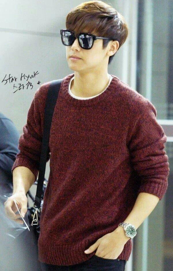 Min Hyuk 131031 going to JP