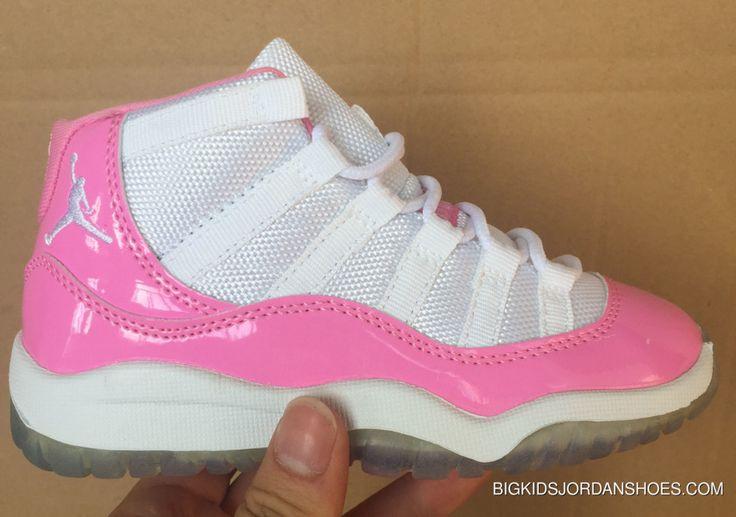 http://www.bigkidsjordanshoes.com/2017-kids-air-jordan-11-pink-white-sneakers-copuon-code.html 2017 KIDS AIR JORDAN 11 PINK WHITE SNEAKERS COPUON CODE Only $78.88 , Free Shipping!