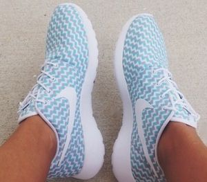 Blue Running Shoes for woman