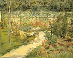 Manet - Le banc (Le Jardin de Versailles) - 1880/81