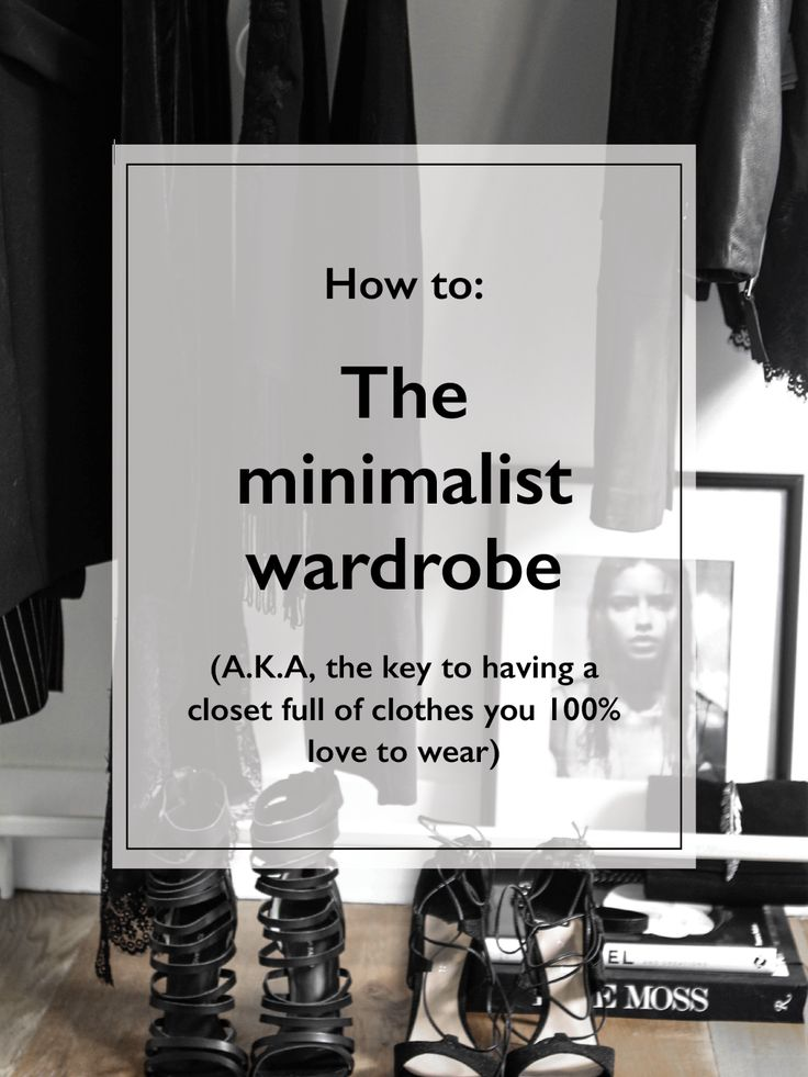 The minimalist wardrobe. A.K.A, the key to having a closet full of clothes you 100% love to wear. Click through to read the full post. | @gococollective