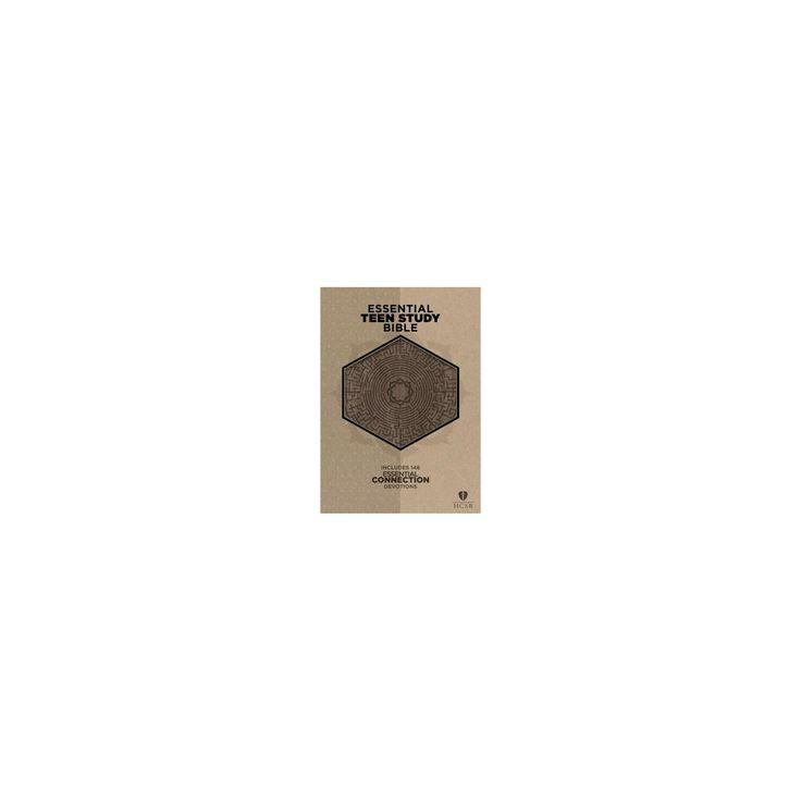 Essential Teen Study Bible : Holman Christian Standard Bible, Gray Cork Leathertouch (Paperback)
