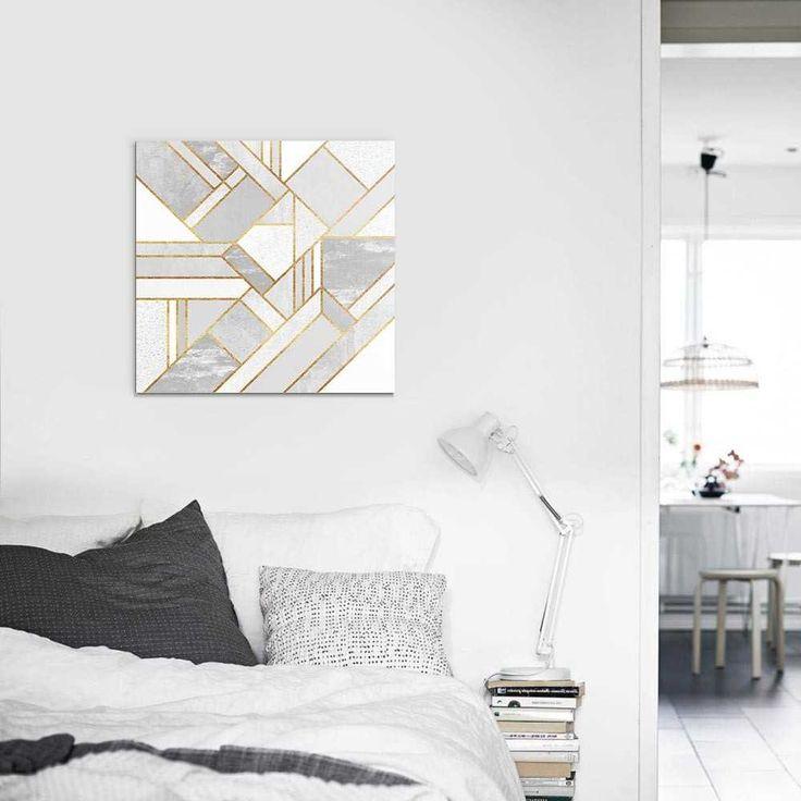 """""""Gold city"""". Tableau Design Numéroté by @efredriksso1458 - A partir de 35 € - www.chall.fr - #decorationinterieur #Artprint #inspiration #idéedeco #geometrique"""