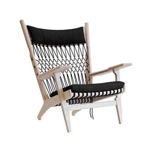 web chair pp129 by hans j wegner country house. Black Bedroom Furniture Sets. Home Design Ideas