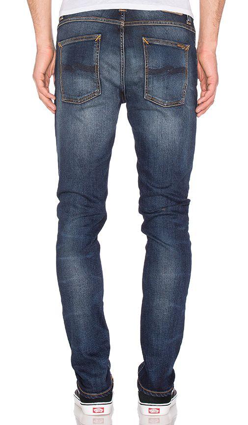 Comprar Nudie Jeans Lean Dean em Peel Blue at REVOLVE. Devolução e envio de 2 a 3 dias grátis, correspondência de preço de 30 dias garantida