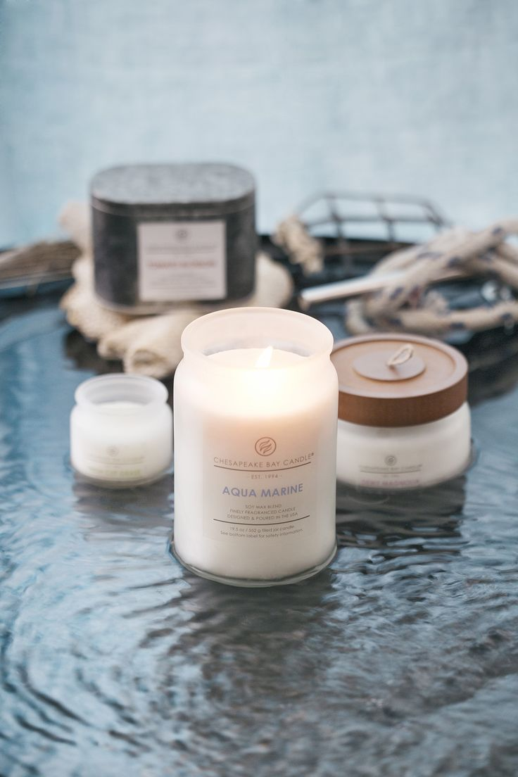 Explore our finely fragranced candles and home fragrances from the Chesapeake Bay Candle Heritage Collection. Our signature soy wax candles are skillfully enriched with all essential oils and designed and poured in Maryland. Visit our online store and sign up for our **Free Sample Candle Club**.