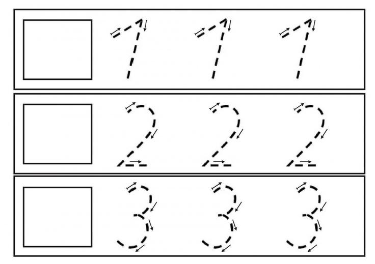 Números Grafomotricidad