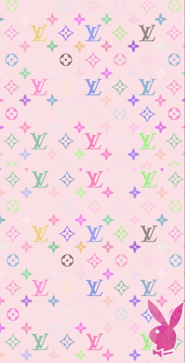 Baby pink lv wallpaper 💞 in 2020 | Iphone wallpaper girly ...
