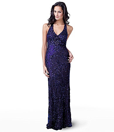 @Allison Rosebrough     soooo you: Rosebrough Soooo, Deep Purple, Adrianna Papell, Red Carpets, Beads Halter, Allison Rosebrough, Halter Gowns, Carpets Beads, Purple Gowns