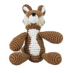 Soft Toy . Crochet Deer - Bell
