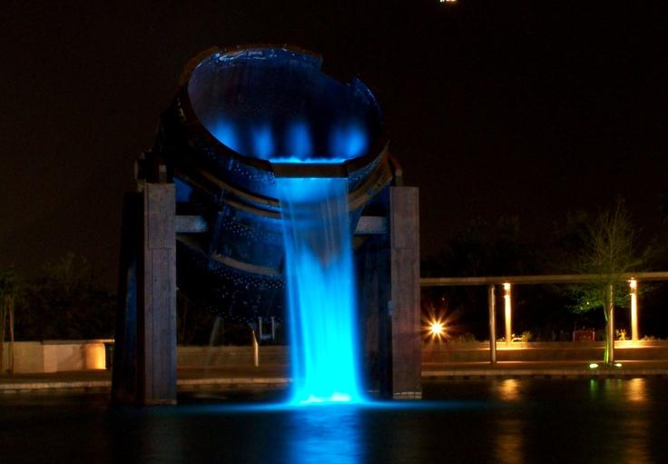 Monterrey Fundidora Fountain
