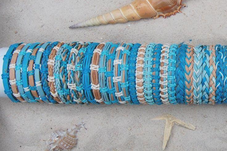 30ER Mix Leder Armbänder B057 Surferstyle Bracelet Ethno Schmuck Großhandel | eBay