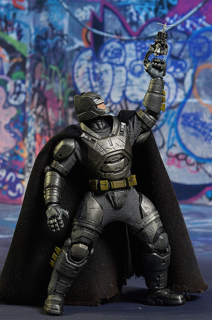 Armored Batman One:12 Collecive action figures by Mezco