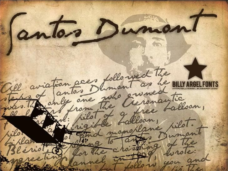 SANTOS DUMONT font by Billy Argel - FontSpace