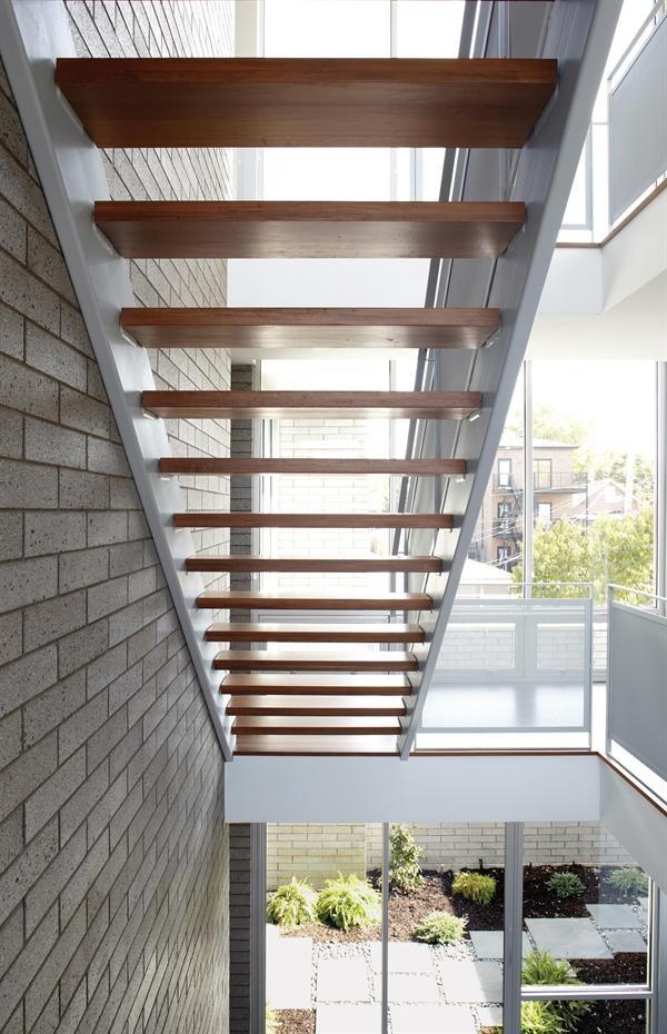 Open riser stairs | Kings Castle: Design Inspiration ...