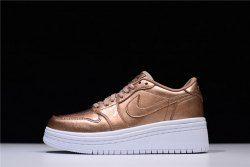 6f9e194a3e1361 Women s Air Jordan 1 Lifted Metallic Red Bronze Sail Metallic Red Bronze  AO1334 901 Girls Casual Shoes