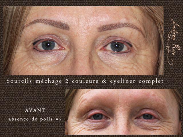 10 id es propos de maquillage permanent sourcils sur pinterest sourcil permanent sourcil - Maquillage permanent sourcils poil a poil ...