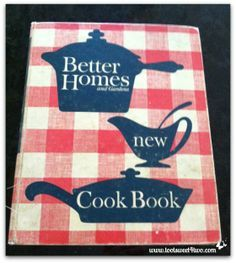 Old Better Homes and Gardens Cookbook