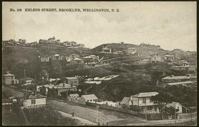 Helen's Street, now called Helen Street, Brooklyn, Wellington 1910 (prob earlier)