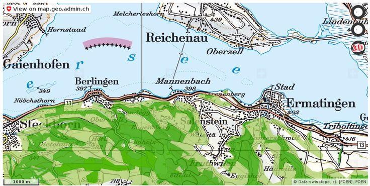 Salenstein TG Wald Nationalpark Urlaub http://ift.tt/2iMKuH4 #karten #mapOfSwitzerland