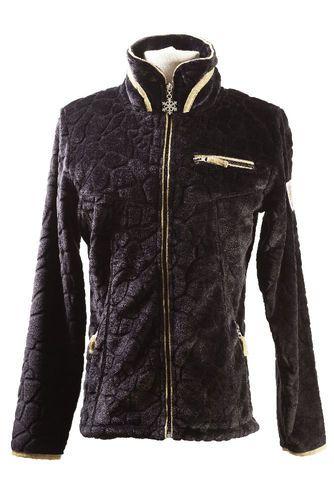 veste polaire femme Innsbruck noir tailles XS S M L XL