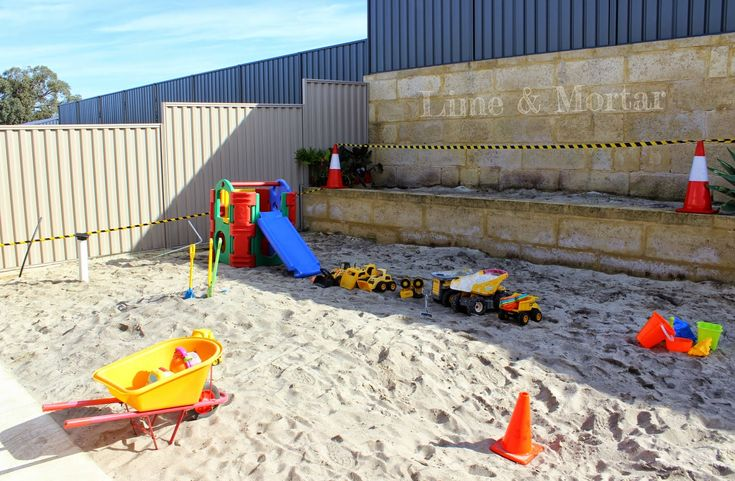 Lime & Mortar: Kids Parties: Construction Party