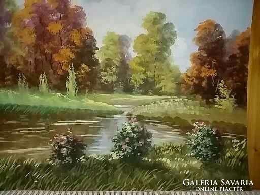 Zorkoczy Gyula (1873 - 1932) - Parkrészlet
