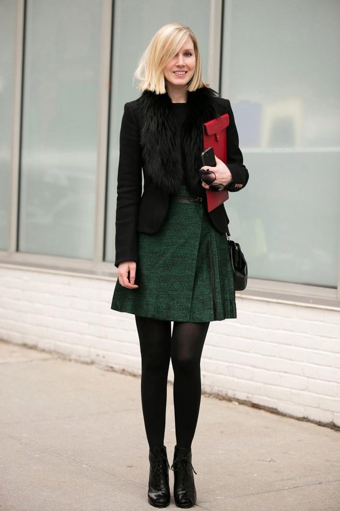teen vogueu0027s jane keltner de valle mixes red and green without looking unseasonal