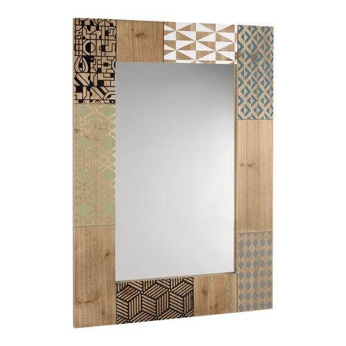 SPECCHIO O1300 - specchio da muro con cornice in legno - mirror with wooden frame - www.mascagnicasa.it