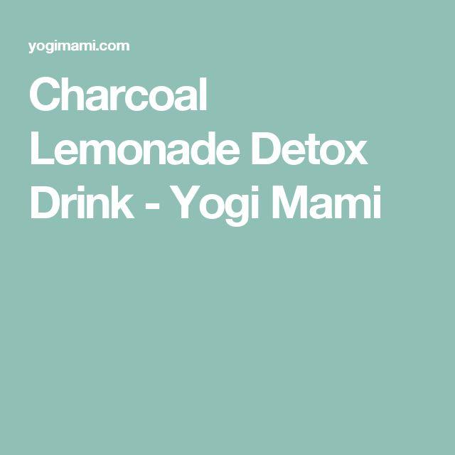 Charcoal Lemonade Detox Drink - Yogi Mami